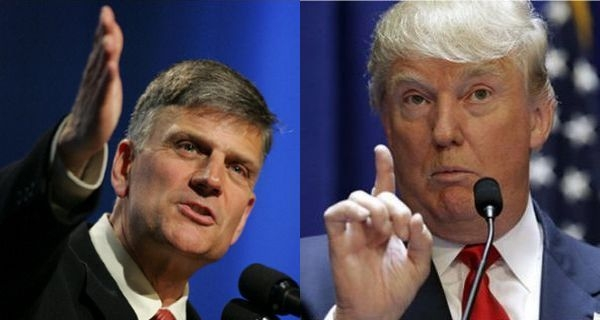 Franklin Graham i Donald Trump