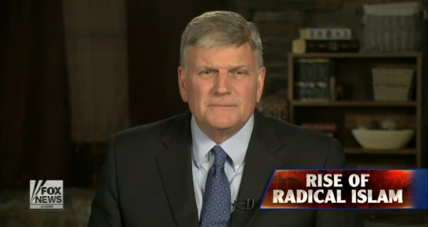 Franklin Graham w Fox News
