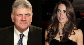 Franklin Graham i księżna Catherine