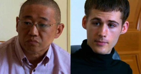 Kenneth Bae i Matthew Todd Miller