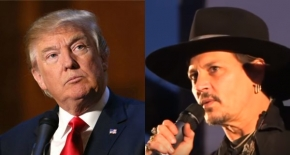 Donald Trump i Johnny Depp