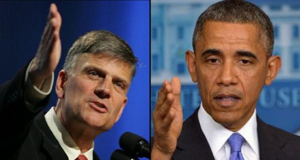 Franklin Graham i Barack Obama